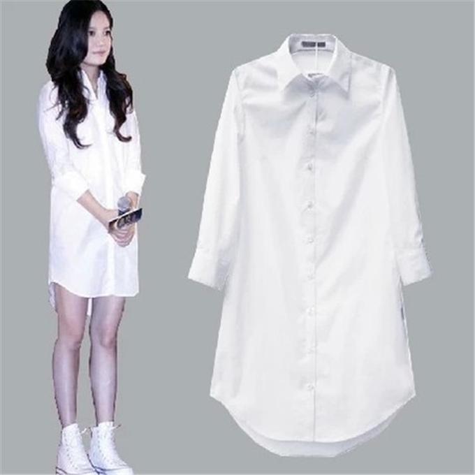 Рубашка белоснежная на 40 р-р XS