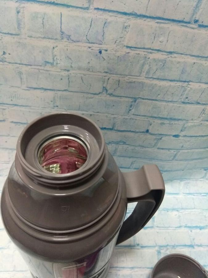 Термос со стеклянной колбой