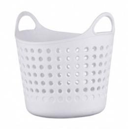 Корзина Корзина круглая для мелочей СНЕЖНО-БЕЛЫЙ. Очаровательные настольные корзинки для различных мелких предметов неизменно будут вызывать улыбку, благодаря своему дизайну и теплым расцветкам. Они о