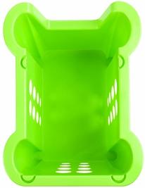 Корзина Корзина   370*280*220мм [RIO] САЛАТНЫЙ.Корзины из пищевой пластмассы Rio – это идеальное сочетание стильного дизайна и функциональности. Небольшие по размеру (37х28х22), они, тем не менее, дос