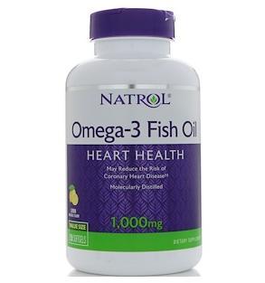 Natrol Рыбий жир Омега-3 1000 мг 150 мягких таблеток