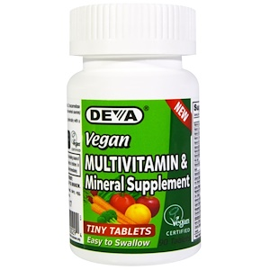 Deva, Мультивитаминная и минеральная добавка, 90 таб
