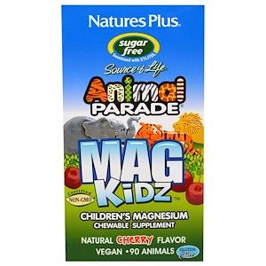 Nature's Plus, Animal Parade, Mag Kidz, Children's Magnesium 90 таб.