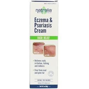 Natralia, Крем от экземы и псориаза 56 гр