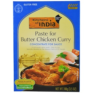 Kitchens of India, Paste for Butter Chicken Curry маринад 100 гр