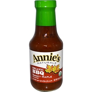 Annie's Naturals, Органический соус барбекю с жидким дымом и кленовым сиропом 340 гр