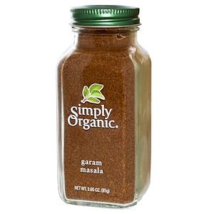 Simply Organic, Гарам масала 85 гр