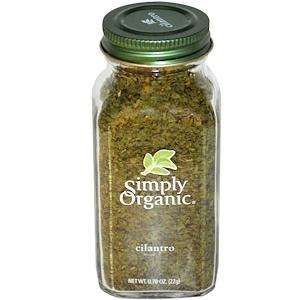 Simply Organic, Кинза 22 гр