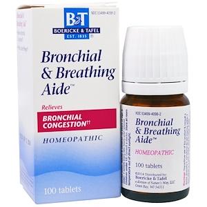 Boericke & Tafel, Помощь при бронхите и астме, 100 таб