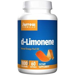 Jarrow Formulas, D-лимонен, 1000 мг, 60 кап