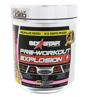 Six Star, Pre-Workout Explosion 231 г