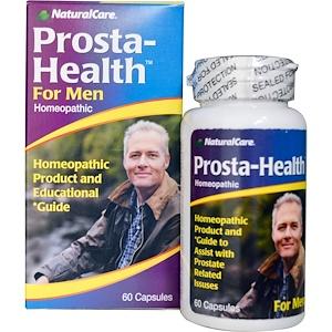 Natural Care, Prosta-Health, для мужчин, 60 кап.