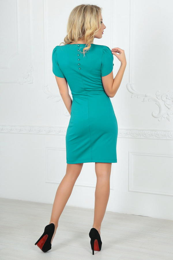 Платье 2504.47 мятное