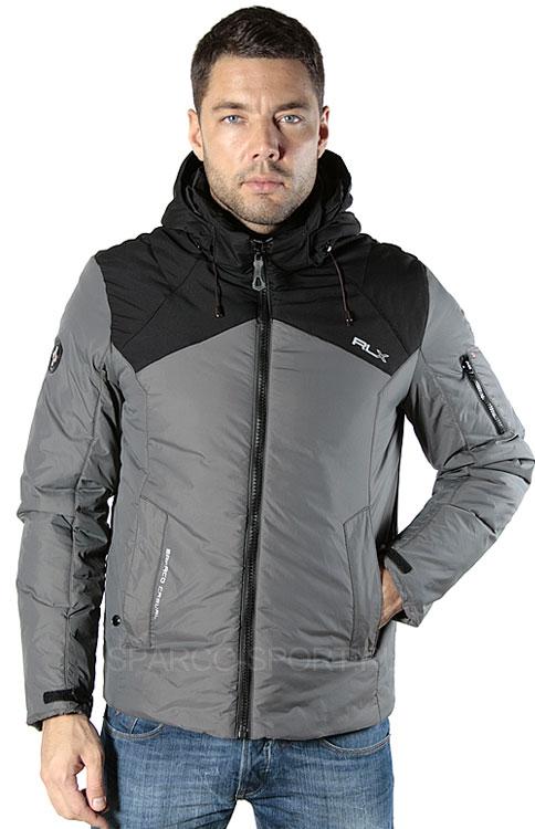 Куртка мужская (серый), размер 52 во Владивостоке