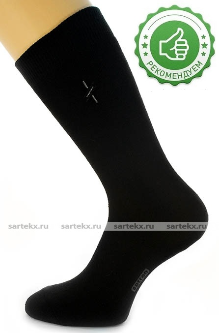 Носки мужские С-16ХН махровые плотные, черный