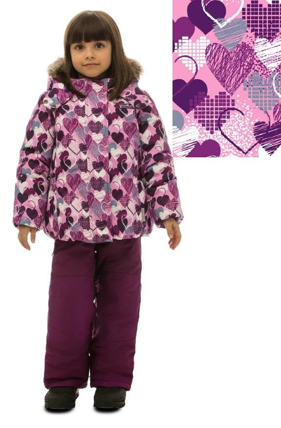 Комплект зимний PREMONT для девочки. Состояние отличное в Хабаровске