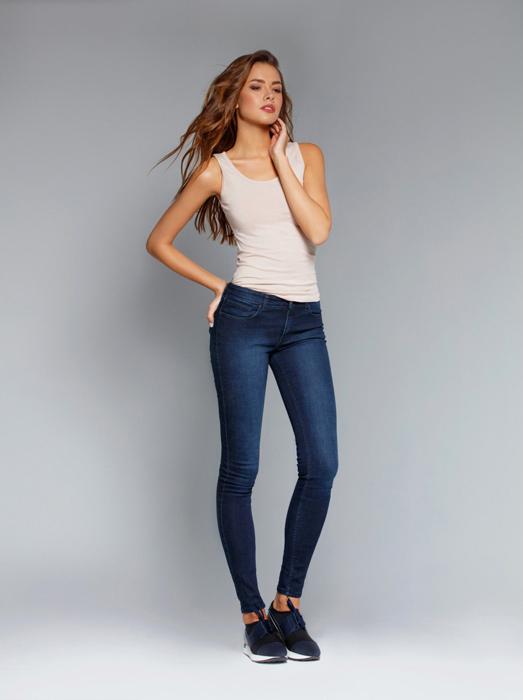 Брюки жен. джинсовые Conte Elegant Slim Fit 623-100D в Хабаровске