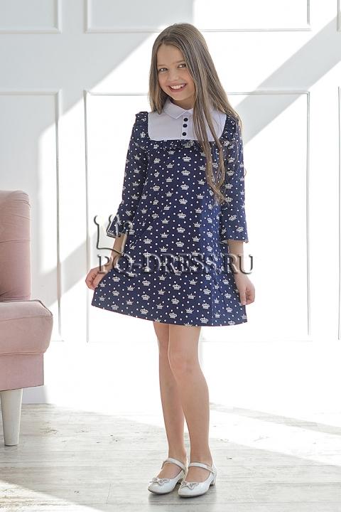 Платье Платье из хлопковой ткани со стрейчем. Легкое, свободное, по спинке молния. *** Замеры платья: 30-ОГ 30х2, длина изделия от плеча 60 см 32-ОГ 32х2, длина изделия от плеча 62 см 34-О
