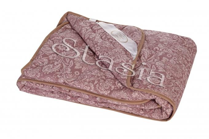 Одеяло Верблюжья шерсть ( пл. 300) - Поплин Ажур 2