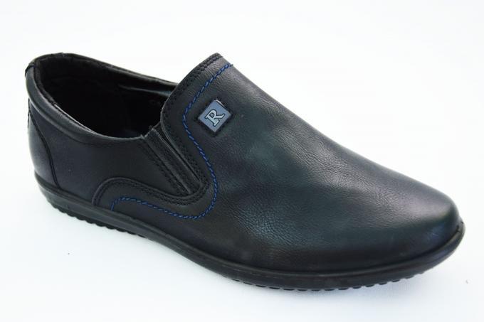 Туфли В5119 черн в Хабаровске
