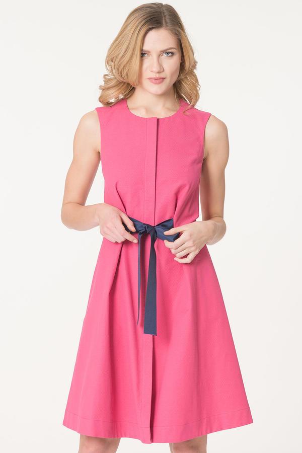 Платье Цвет: коралловый  70%хлопок 26% полиэстер 4% лайкра