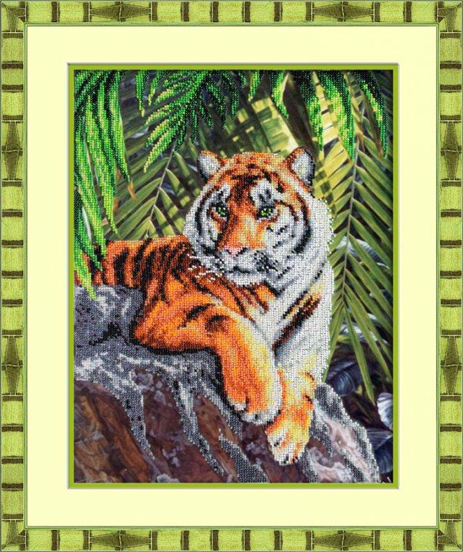 Вышивка крестом картинки тигры