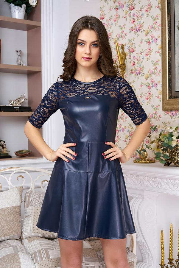 кожаное платье 44-46 разм во Владивостоке