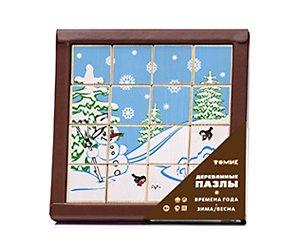 Пазлы Времена года Зима/Весна