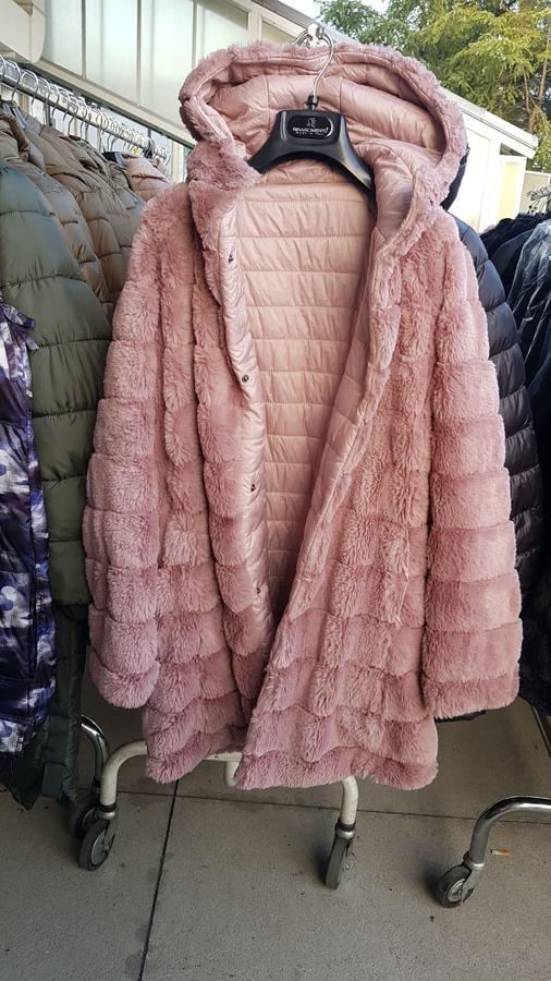 Куртка двусторонняя мех-болонь