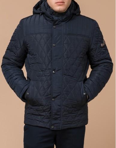 Комфортная мужская куртка цвет синий модель 24534