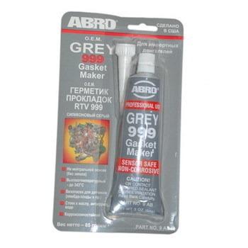 "Герметик прокладка ""АВRО"" Серый RTV-999, США, 85 гр."