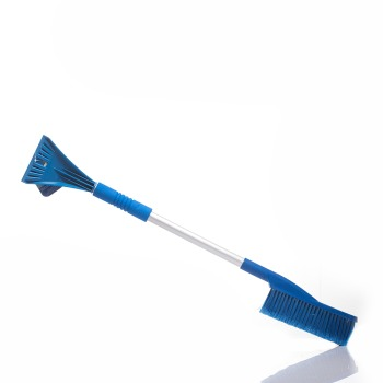 Щетка для снега CARFORT Cristal-10 со скребком 81см, мягкая ручка