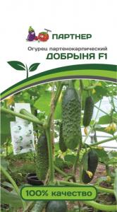 Семена Огурец партенокарпический Добрыня F1 10 шт