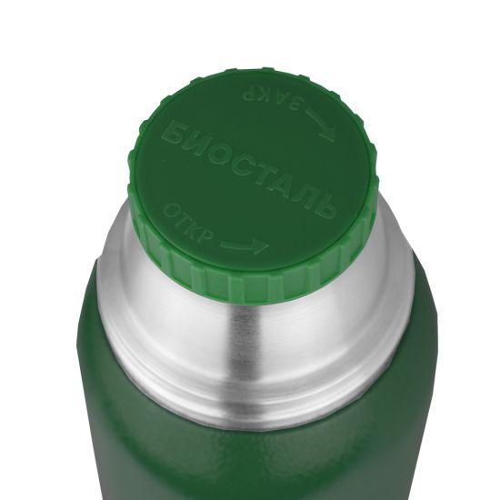 "Термос Biostal ""Охота"" NBA-1000G ( у/г с двумя чашками) зеленый"