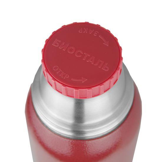 "Термос Biostal ""Охота"" NBA-1000R (у/г с двумя чашками) красный"