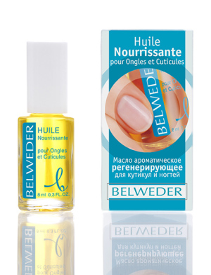Масло ароматическое регенерирующее для кутикул и ногтей Бельведер, 8 мл