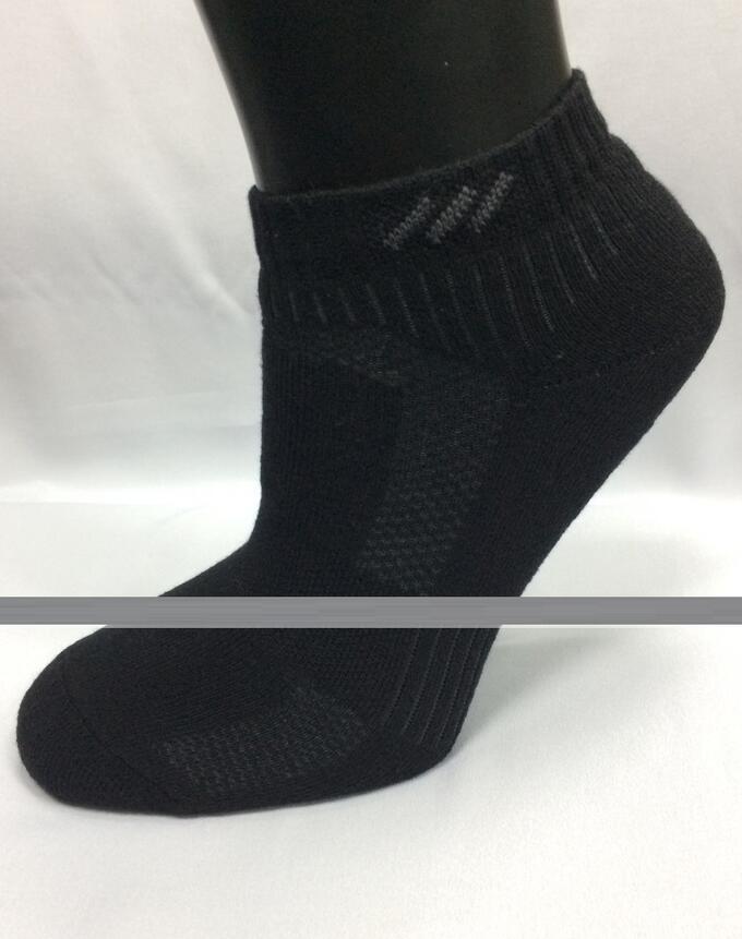 Носки мужские В-36М укороченные с комфортной резинкой, черный