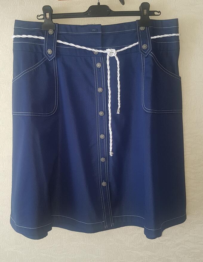 Юбка джинсовая 52р (21.12.20) во Владивостоке