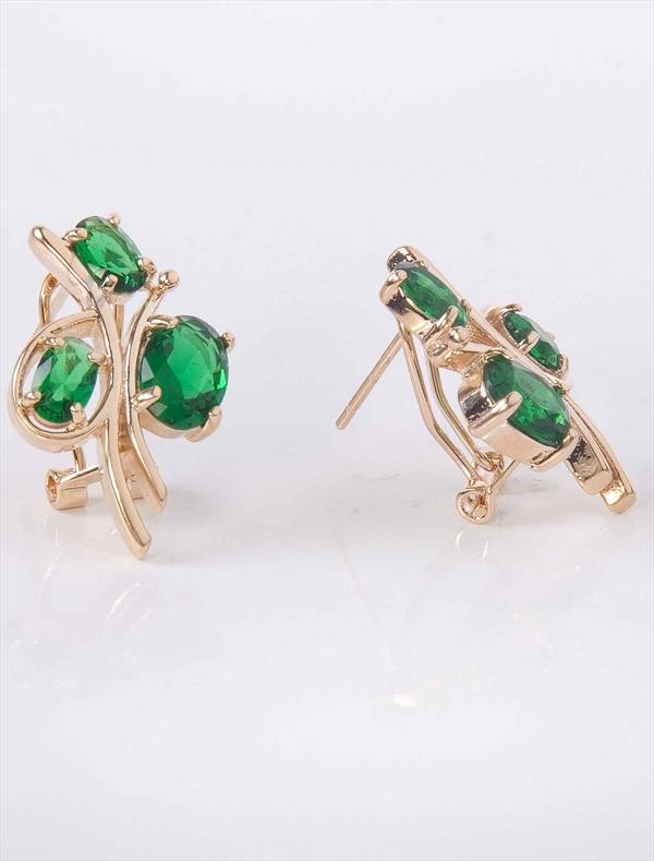 этой золотые серьги с зеленым камнем картинки встречать