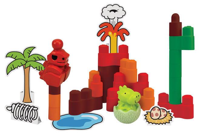 Динопарк «Динопарк» ТМ K'S Kids Купите вашему ребенку замечательную игрушку «Динопарк» K'S Kids. Конструктор укомплектован фигурками динозавров, выполненными с подробной детализацией. Игрушка подарит