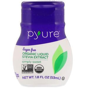 Pyure, Organic Liquid Stevia Extract, Simply Sweet (53 ml)