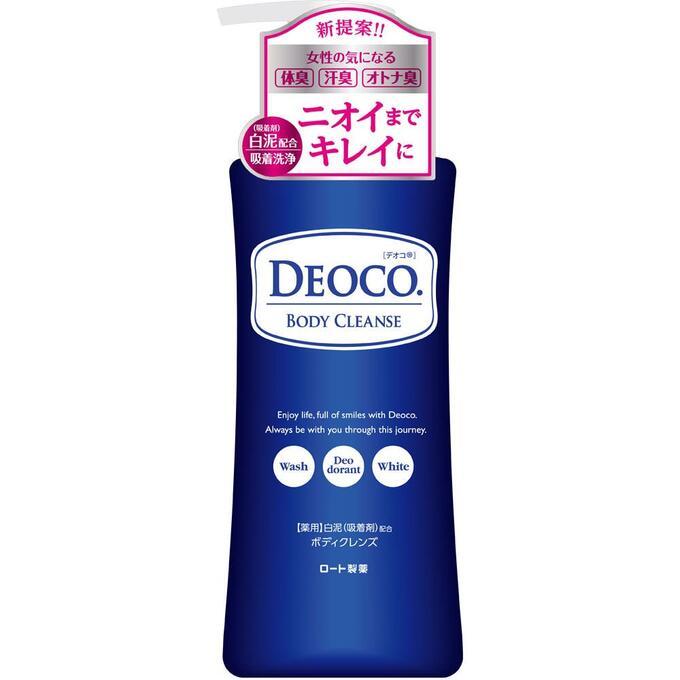 ROHTO Deoco Medicated Body Clean - гель для душа против пота и возрастного запаха