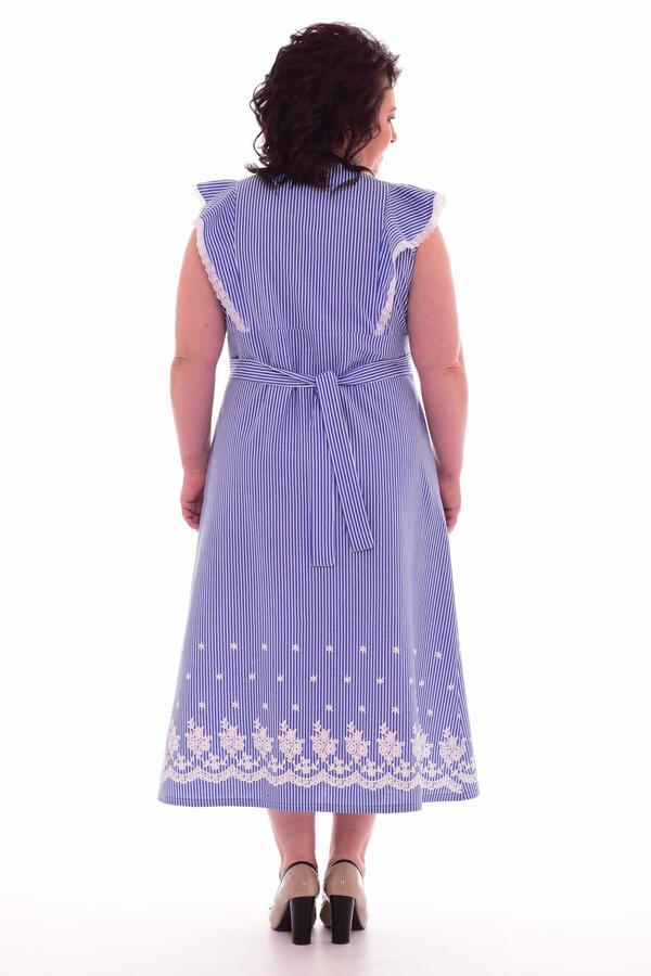 Сарафан женский 4-52 (голубой)