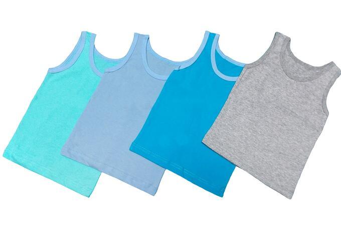 Майка Количество в упаковке: 1; Артикул: 150 КО; Ткань: Кулирка; Состав: 100% Хлопок; Цвет: Разноцветный Скачать таблицу размеров