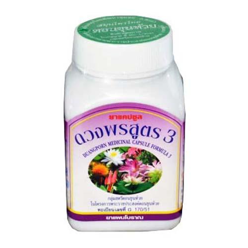Капсулы для женщин в период менопаузы Duangporn medicinal capsule Formula 3