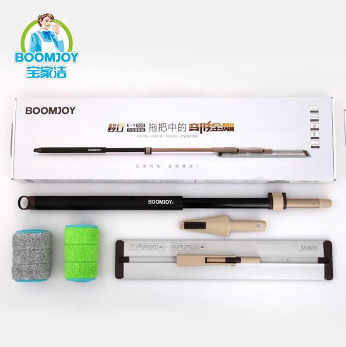 Алюминевая швабра-трансформер со скользящим механизмом Boomjoy JY8679