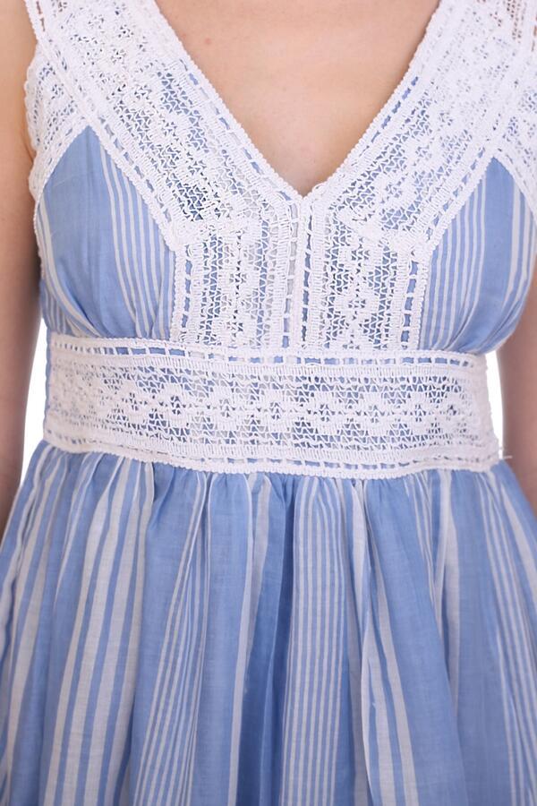 Сарафан Aline Цвет Голубой,Белый.