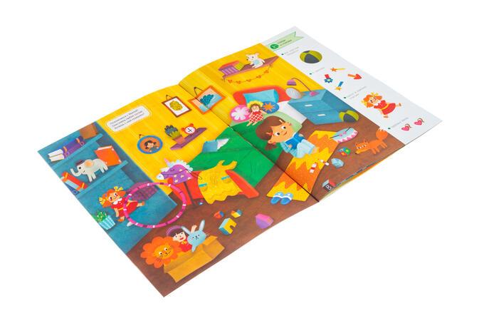РВм19. Книжки с наклейками. Книжка с наклейками для девочек. 50 наклеек