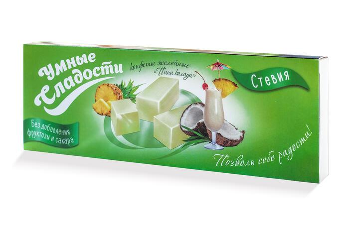 Конфеты желейные пина-колада