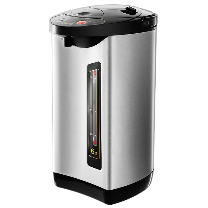Чайник-термос электрический 900 Вт, 6 л ЯРОМИР ЯР-1900 черный